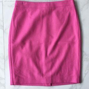 Pink JCrew The Pencil Skirt